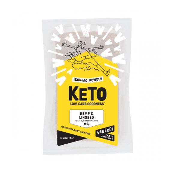 Venerdi Keto Bread - Hemp & Linseed 490g