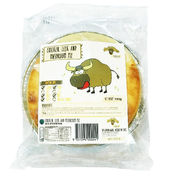 Silly Yaks Chicken and Leek Pie 200g