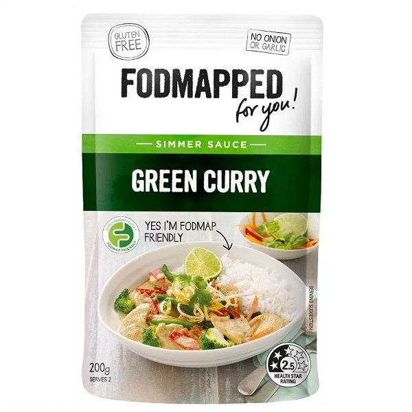 Fodmapped Sauce - Green Curry 200ml