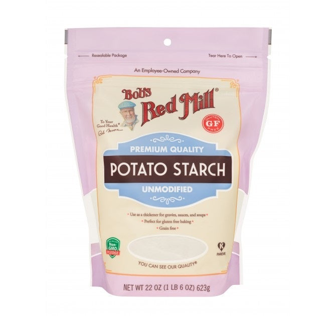 Bobs Red Mill Flours - Potato Starch 624g