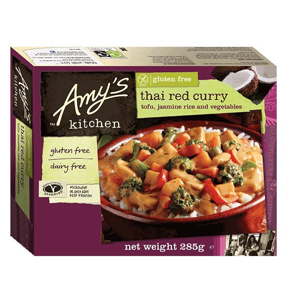 Amys Thai Red Curry Meal 285g