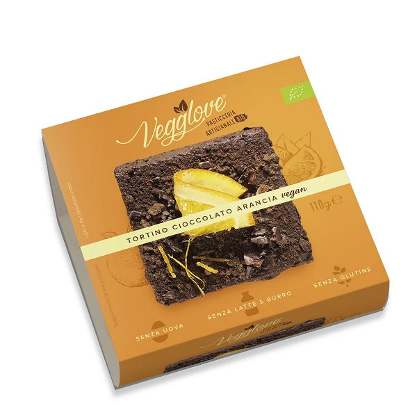 Vegglove - Organic Orange Chocolate Cake 110g
