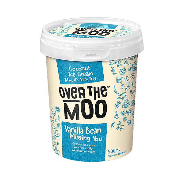 Over The Moo Vanilla Bean 500ml
