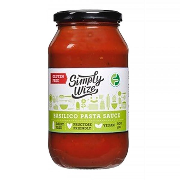 Simply Wize Sauce - FODMAP Basilico 500g