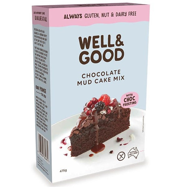 Well & Good - Chocolate Mud Cake Mix 450g