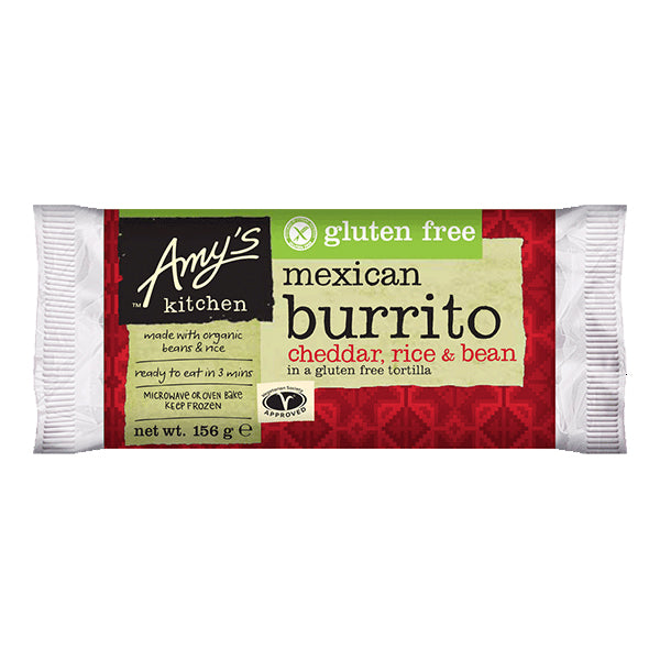 Amys Burrito Bean and Cheese 155g
