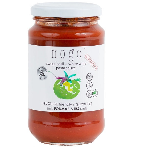 NoGo Pasta Sauce Concentrate Basil & Wine 375ml