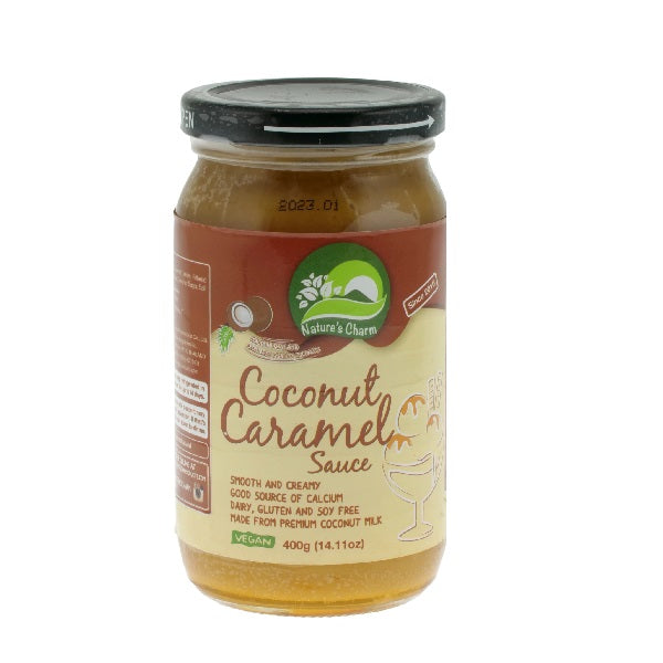 Natures Charm - Coconut Caramel Sauce 400g