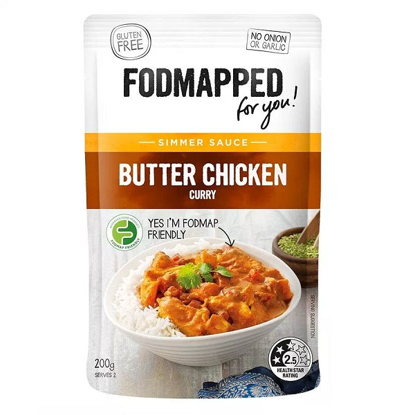 Fodmapped Sauce - Butter Chicken 200ml