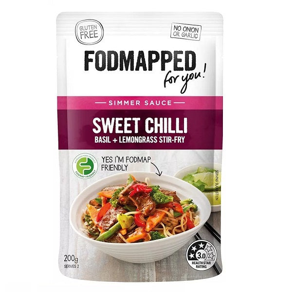Fodmapped Sauce - Sweet Chilli Stiry Fry 200ml