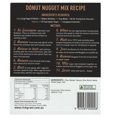 Rick Grants Mix - Donut Nugget 220g