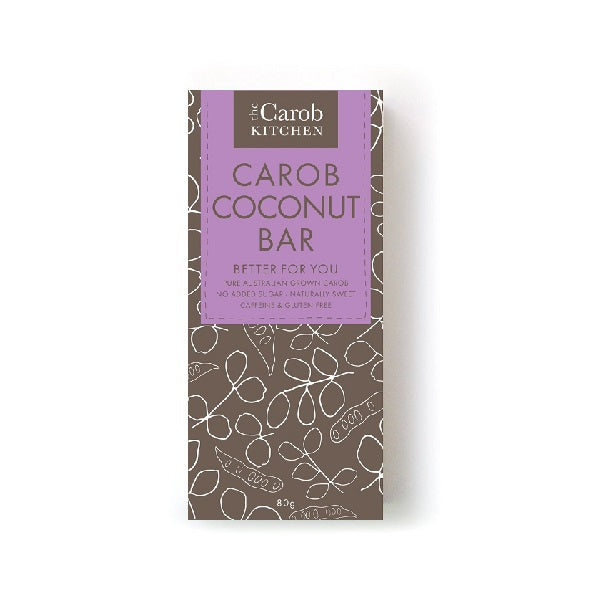 The Carob Kitchen Coconut Bar 80g
