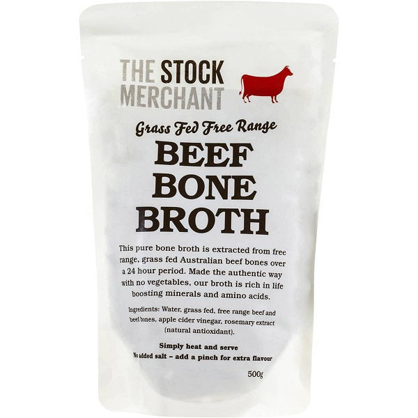 The Stock Merchant Beef Broth 500g