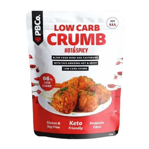 The Protein Bread Co - Low Carb Crumb - Hot and Spicy 300g