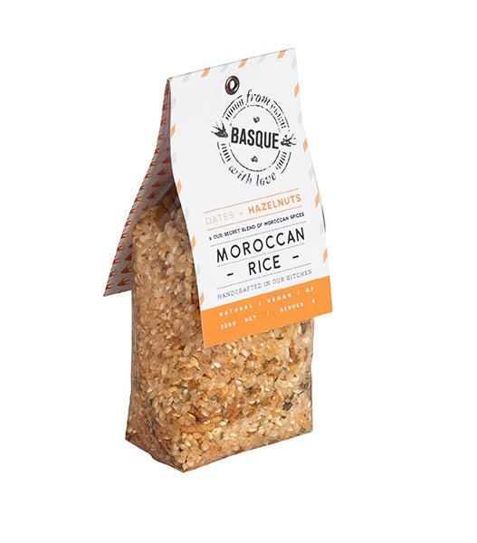 From Basque With Love - Moroccan Rice 325g