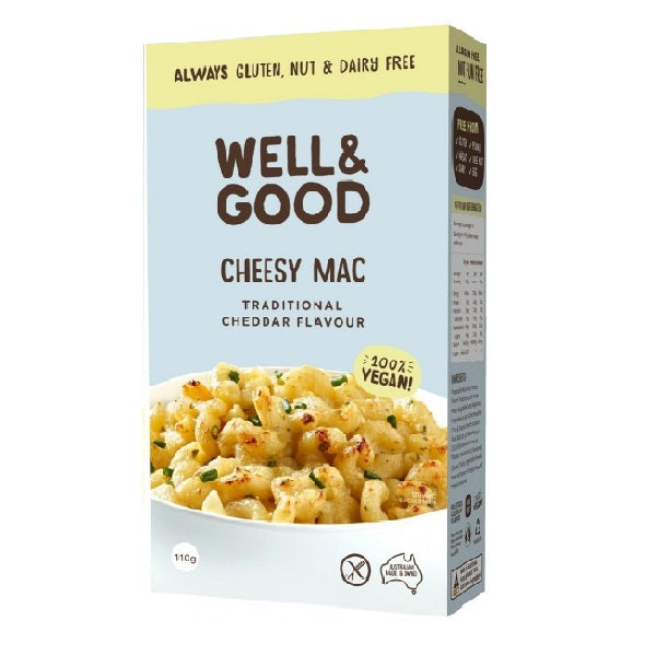 Well and Good  - Cheesy Mac - Cheddar 110g