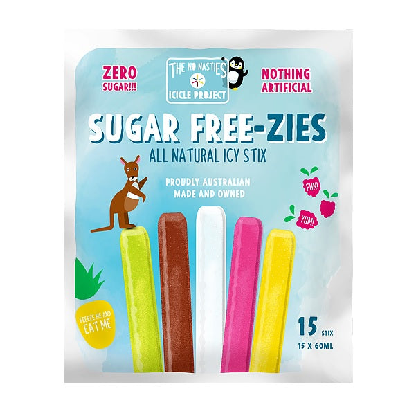 The No Nasties Project - Sugar Free-zies 15 Pack
