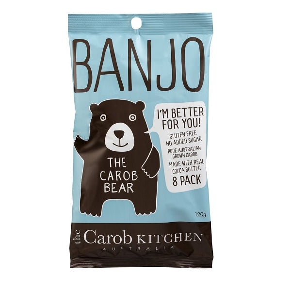 The Carob Kitchen 8 Pack Original Bears 120g