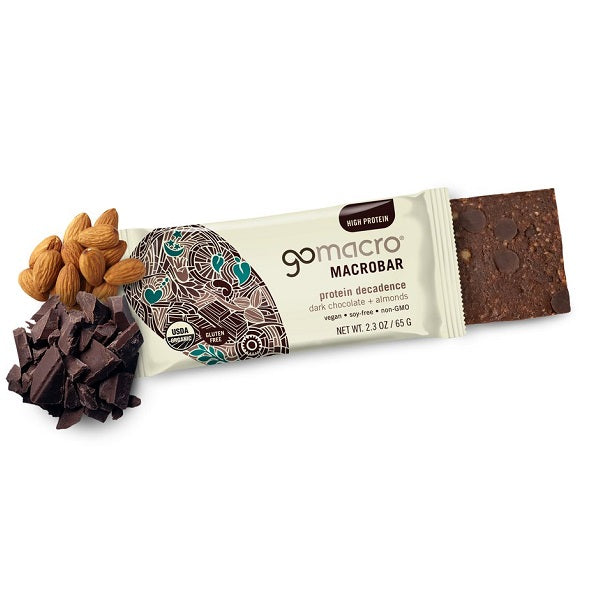 Go Macro Dark Chocolate Almond 65g