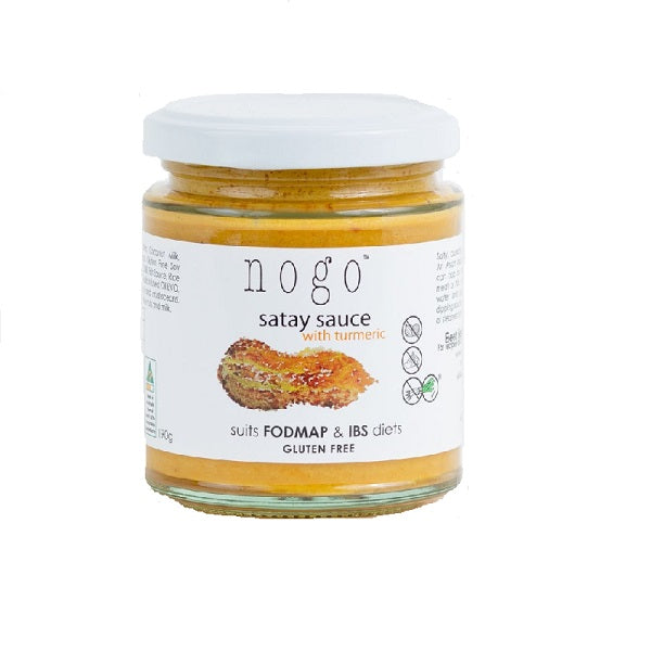 Nogo Sauce Satay with Turmeric 190g