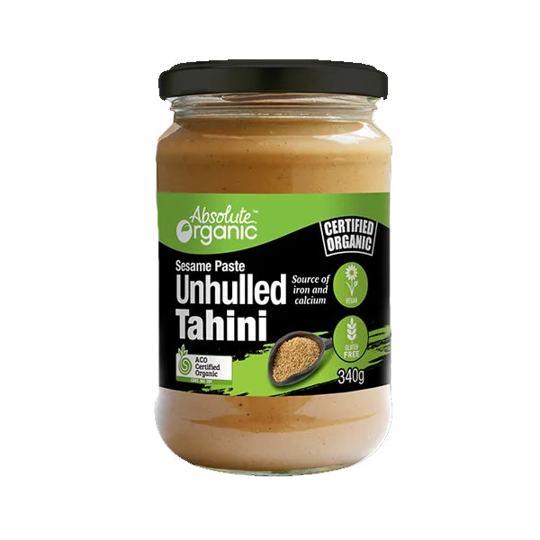 Absolute Organic - Tahini Unhulled 340g
