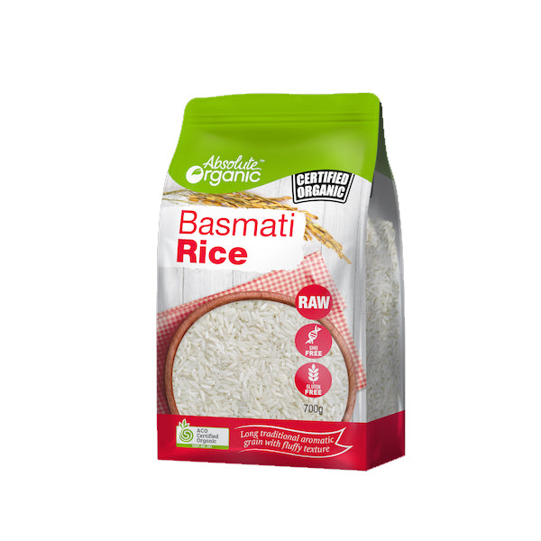 Absolute Organic - Rice - Basmati 700g
