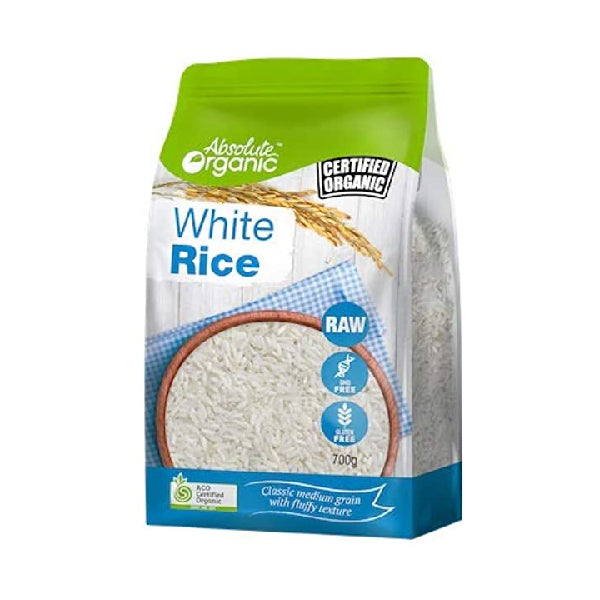 Absolute Organic - Rice - White 700g