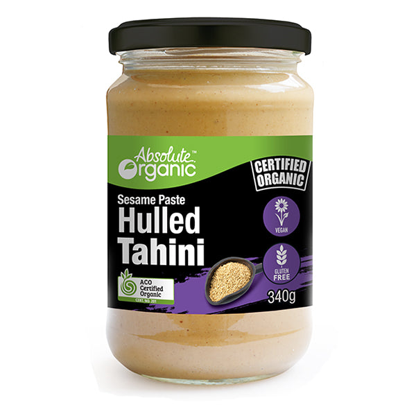 Absolute Organic - Tahini Hulled 340g