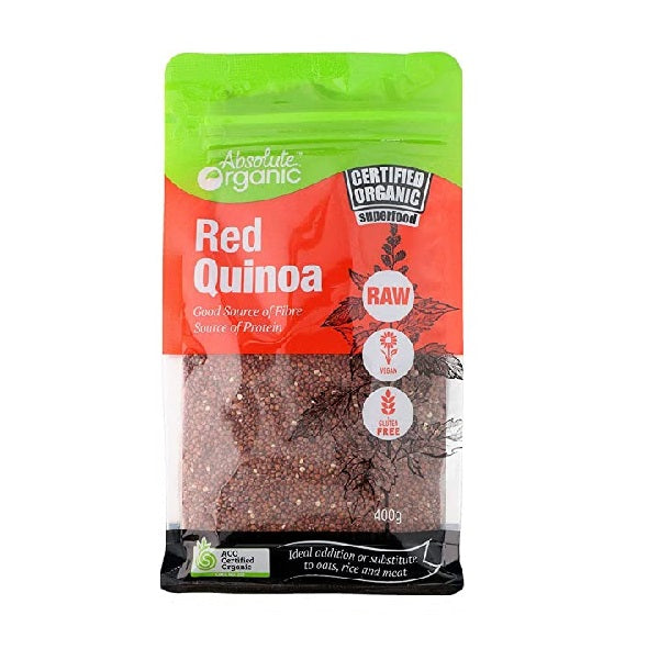 Absolute Organic - Quinoa - Red 400g
