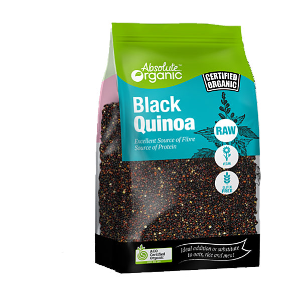 Absolute Organic - Quinoa - Black 400g
