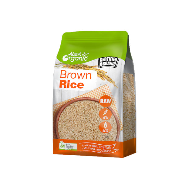 Absolute Organic - Rice - Brown 700g