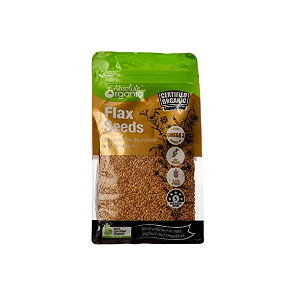 Absolute Organic - Flax Seeds 400g