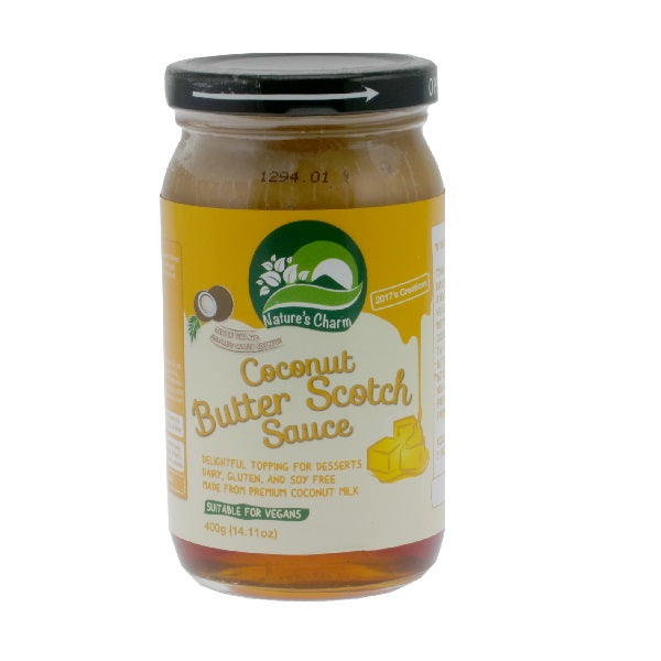 Natures Charm - Coconut Butterscotch Sauce 400g