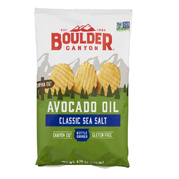 Boulder Canyon Avocado Crinkle Chip 150g