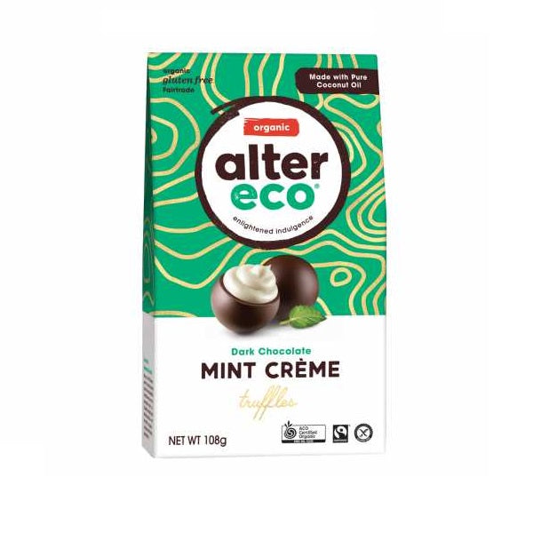 Alter Eco Truffles  - Dark Mint Creme108g