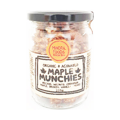 Mindful Foods - Munchies Maple Pecan & Walnut 225g
