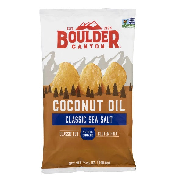 Boulder Canyon Coconut Potato Chips 150g