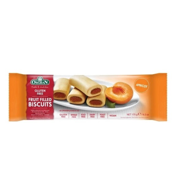 Orgran Biscuits Apricot Filled175g