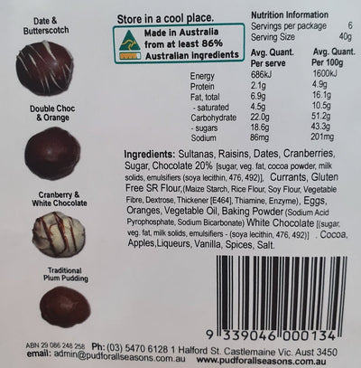 PUD Assorted Choc Coated Balls 240g