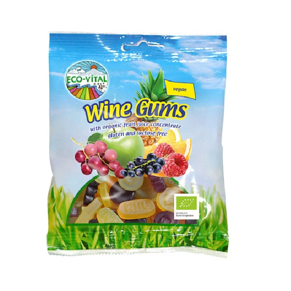 Eco Vital Wine Gums 100g