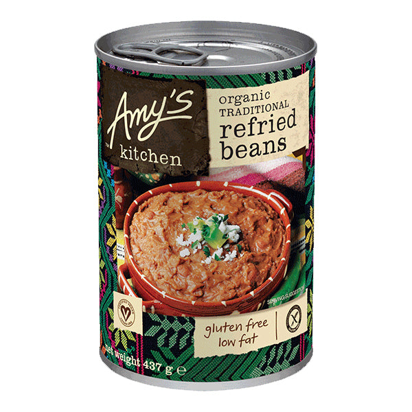 Amys Soups Trad Refried Beans 473g