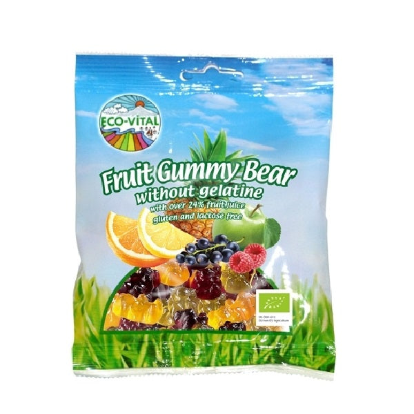 Eco Vital Gummy Bears 100g