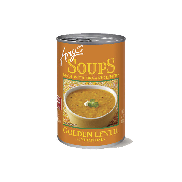 Amys Soups Indian Golden Lentil 408g