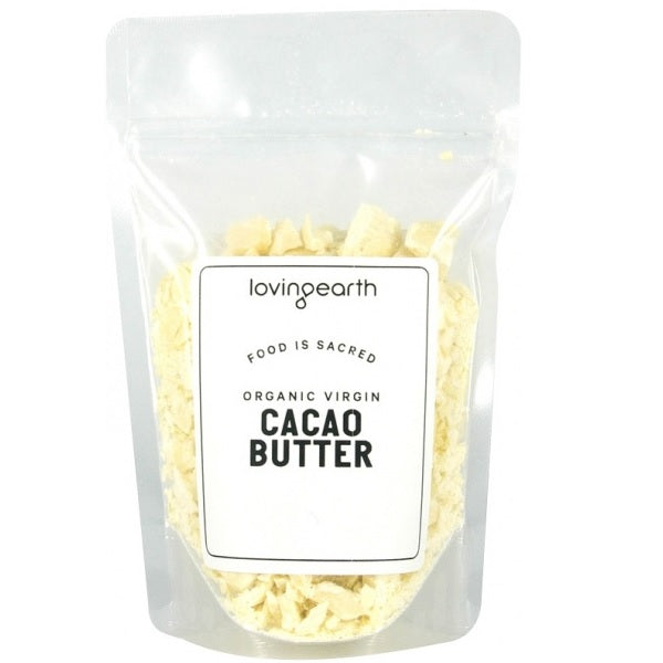 Loving Earth Cacao Butter 250g