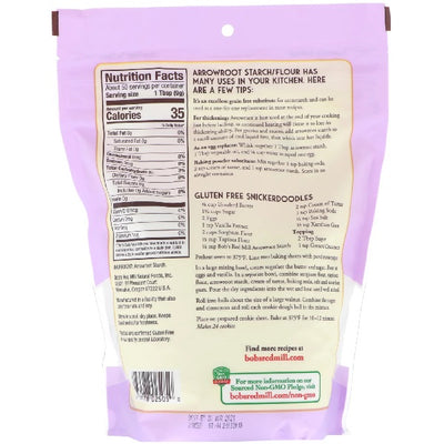 Bobs Red Mill Arrowroot Flour 453g