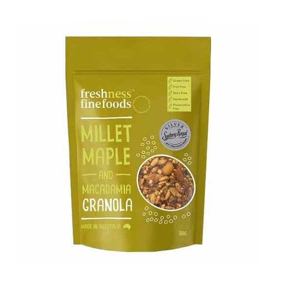 Millet Maple and Macadamia Granola 350g
