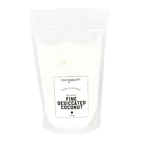 Loving Earth Coconut Dessicated 250g