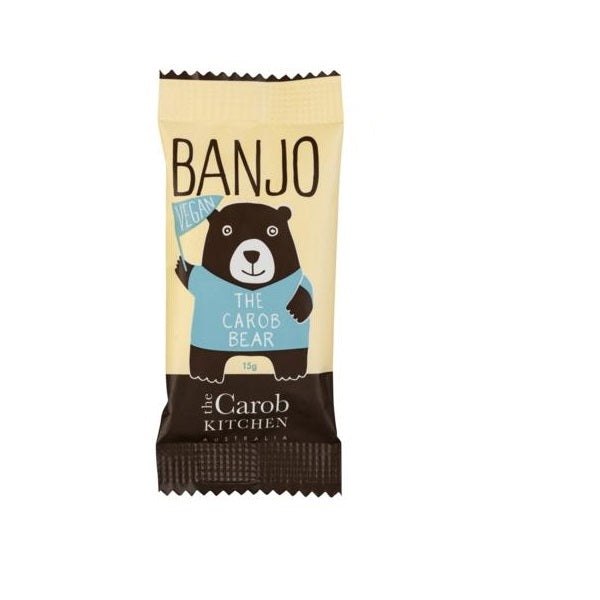 The Carob Kitchen Vegan Banjo Bear 15g