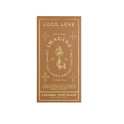 Loco Love - Imagine Block - Caramel White Chocolate