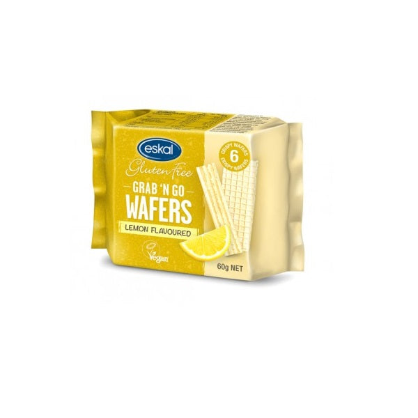 Eskal Wafer - Grab N Go - Lemon 60g